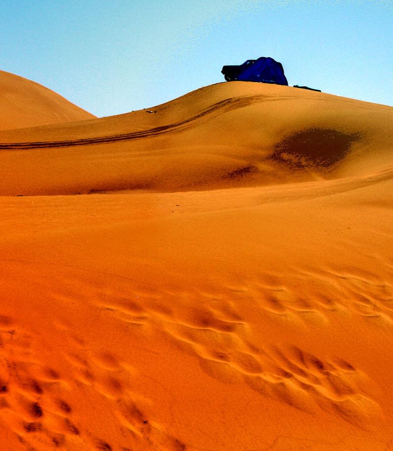 red desert in Riyadh, saudi arabia