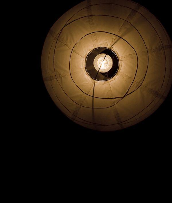 cieling light from below