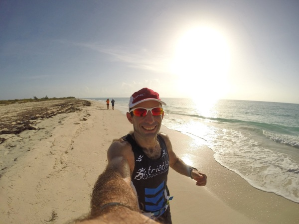 Selfie en Isla blanca