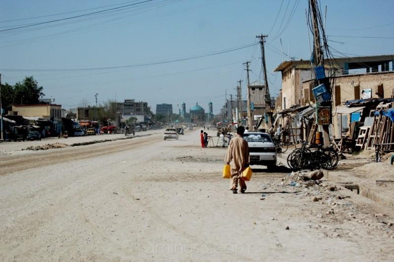 UN street, Mazar-i-Sharif