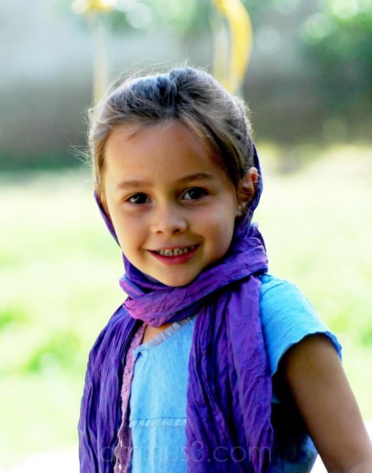 Afghan girl, Mazar