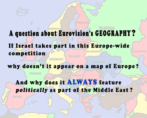 A Question about Eurovision's Geography ?