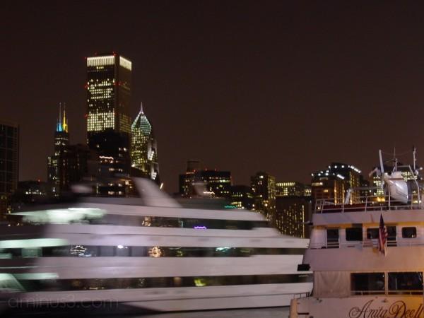 Skyline from Navy Pier, Chicago, Illinois