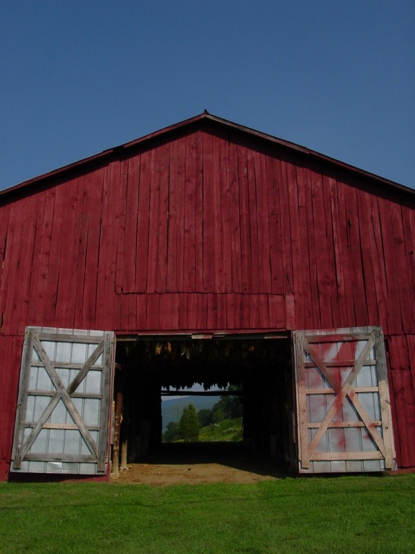 Wears Valley Tobacco Barn