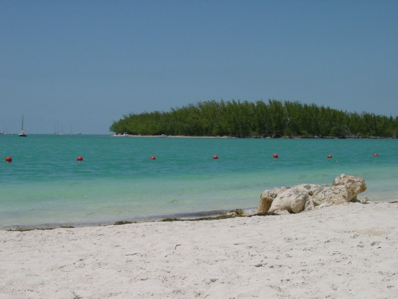 View from Sunset Key to Pine Key, Florida