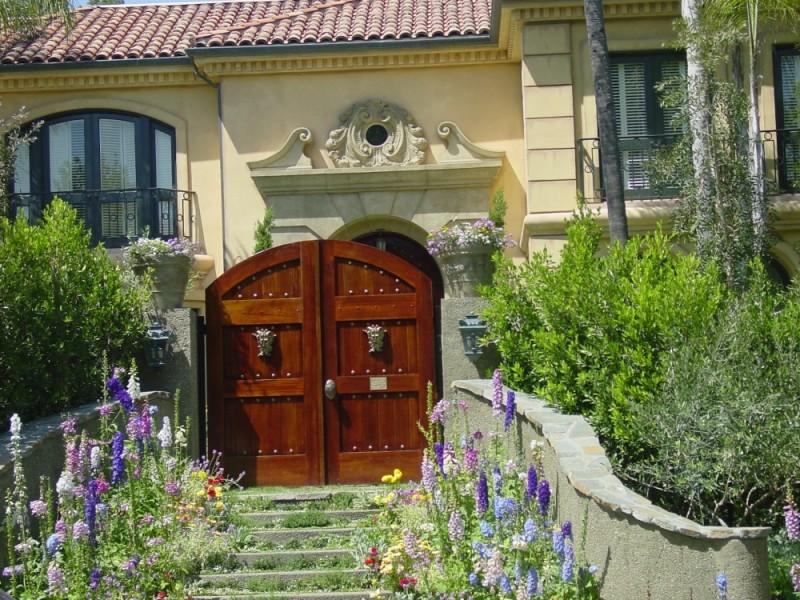 Ozzy Ozbourne's Mansion Gate, Beverly Hills, CA