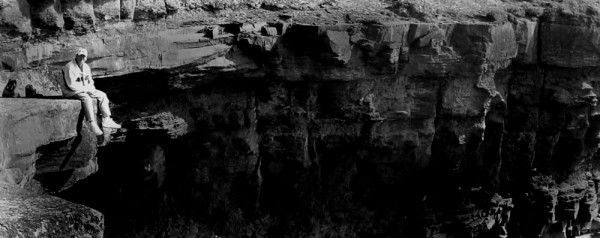Dean Francis on a Cliff