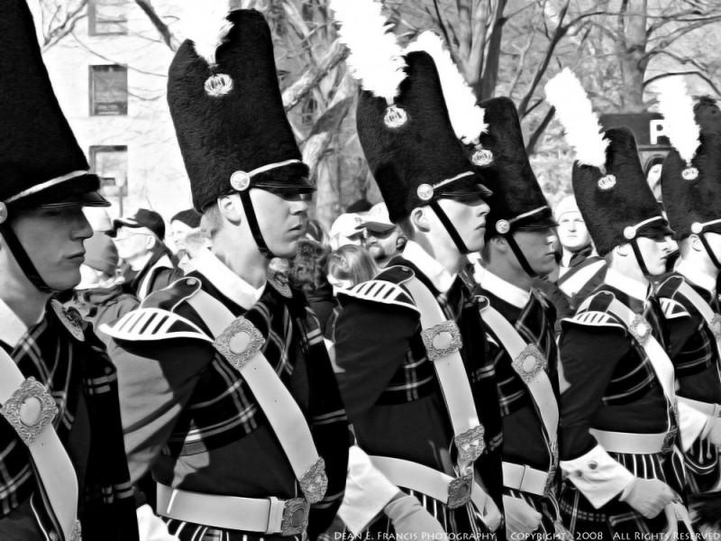 Notre Dame Fighting Irish Color Guard