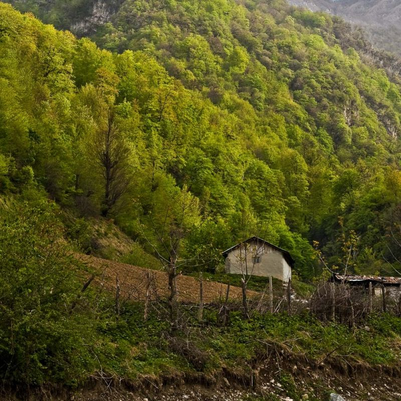 Ziaarat Village, Gorgaan, Golestan Province, Iran