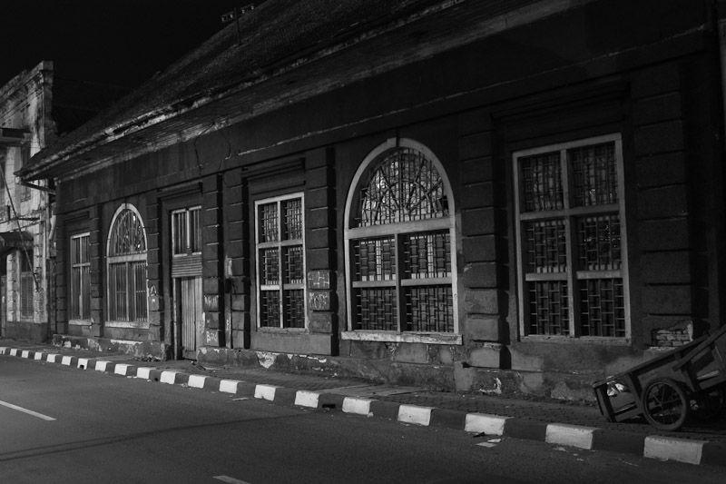 abandon building jakarta old city