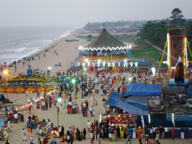 Evenin at d Calicut beach