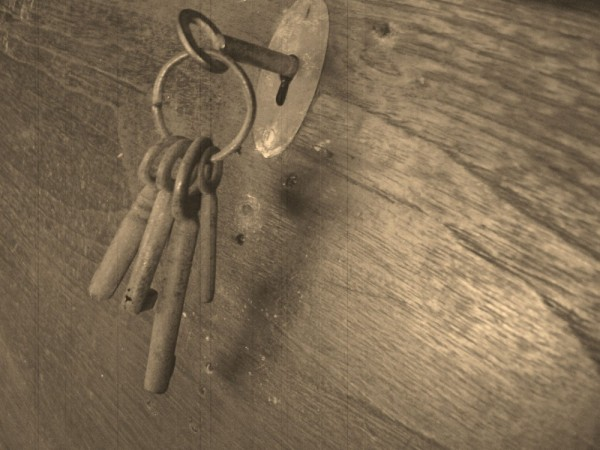 Keys of an old chest