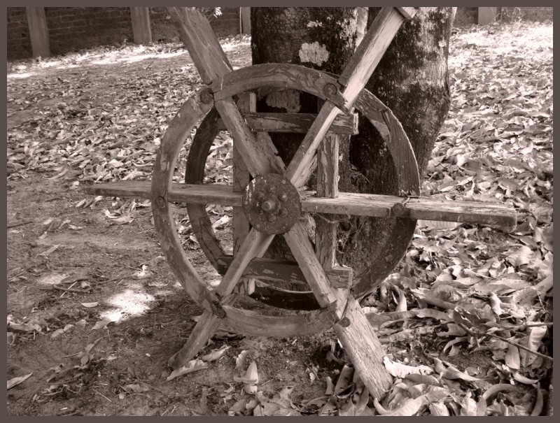 An Old Wheel