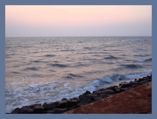 After the sunset @ Calicut beach