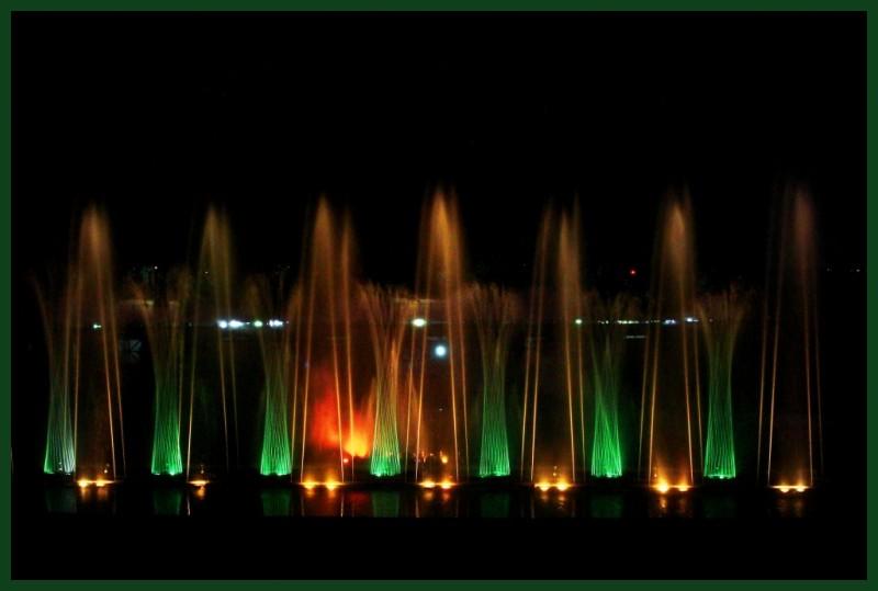 Lasershow @ Lumbini Park