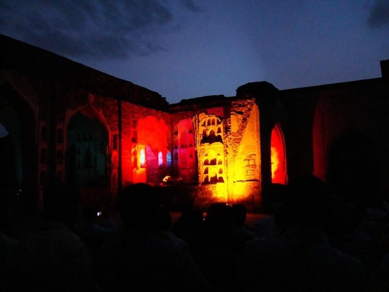 Light n Sound Show, Golconda