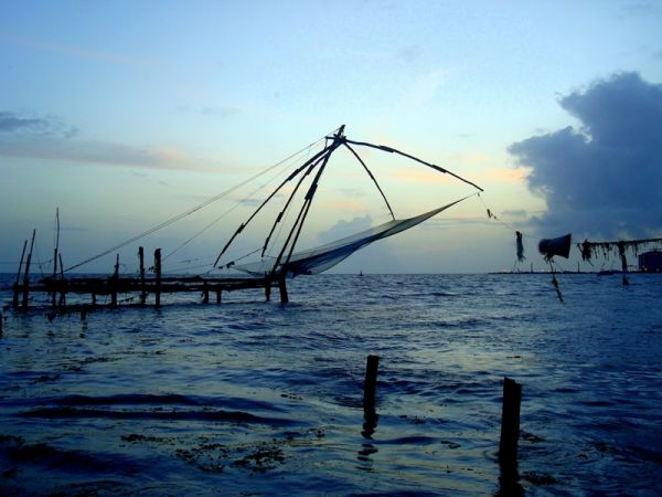 Fishing Nets @ Fort Kochi