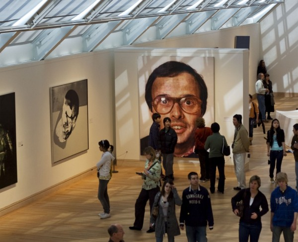Chuck Close is creepy