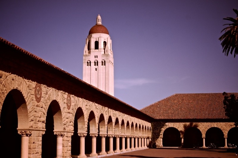 Hoover Tower (at Stanford)