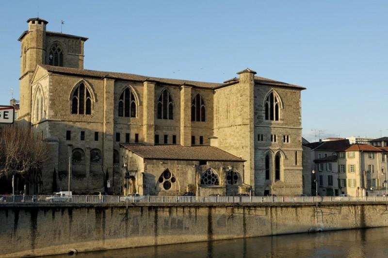 church St Barnard, Romans sur Isere, 26 Drome