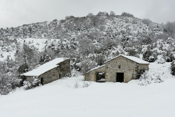 grange neige limouches peyrus Drome