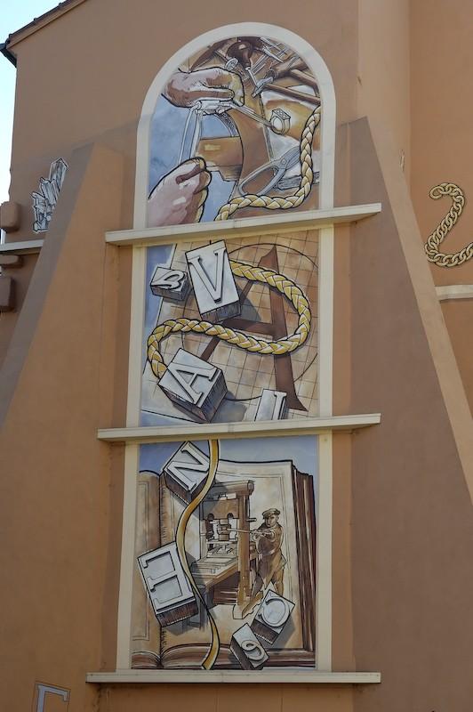 Valence fresque Drome 26