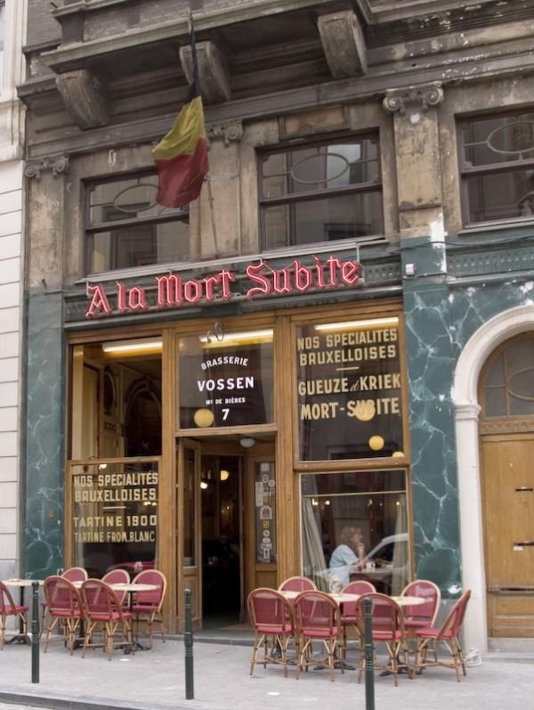 Bière Bruxelles Belgique Mort subite