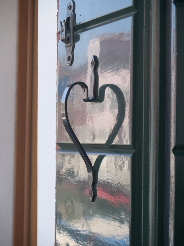 Coeur volet Burano Italie