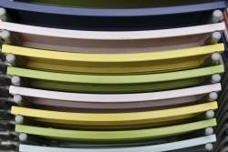 couleur arc-en-ciel chaises berlin