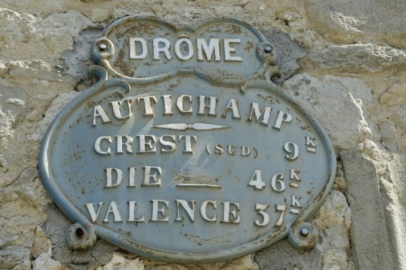 Panneau Autichamp Drome 26