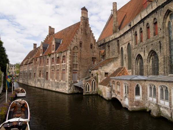 Bruges Belgique canal