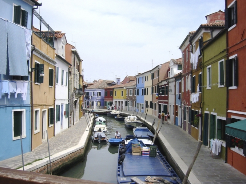 Burano Vénétie Italie