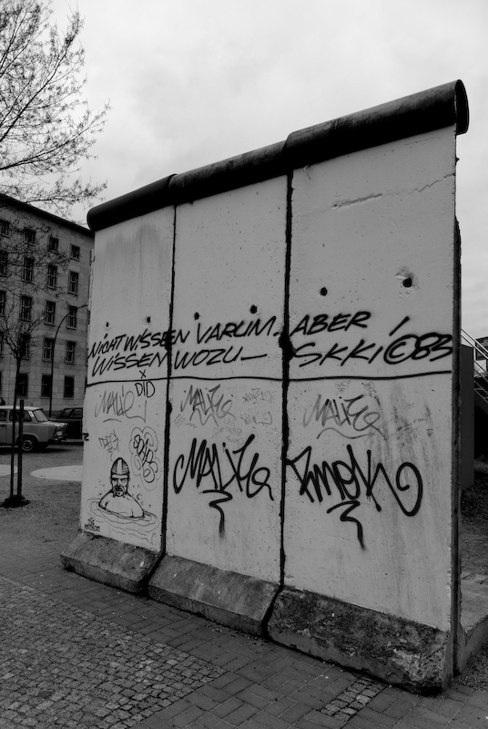 Berlin Mur Graffiti
