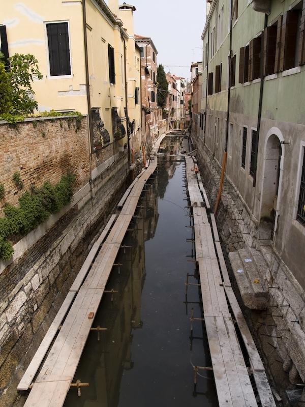 Venise Italie Travaux