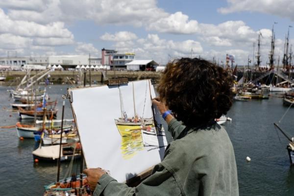 Douarnenez peintre
