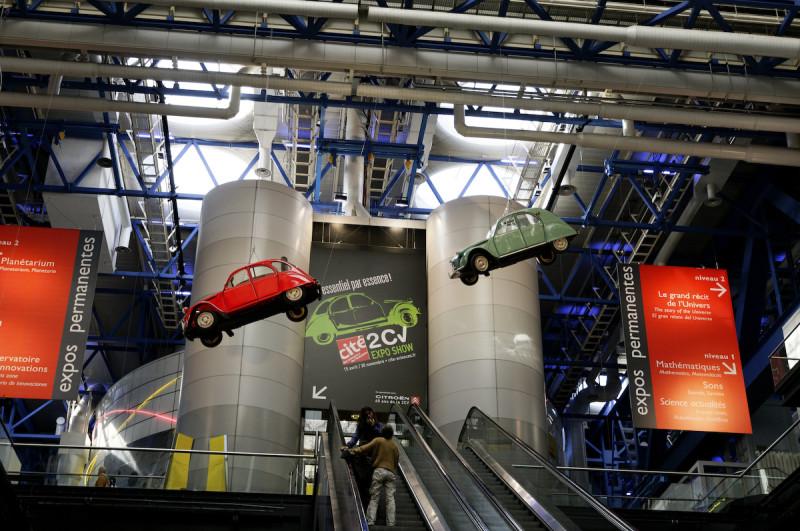 La villette automobile 2CV Paris