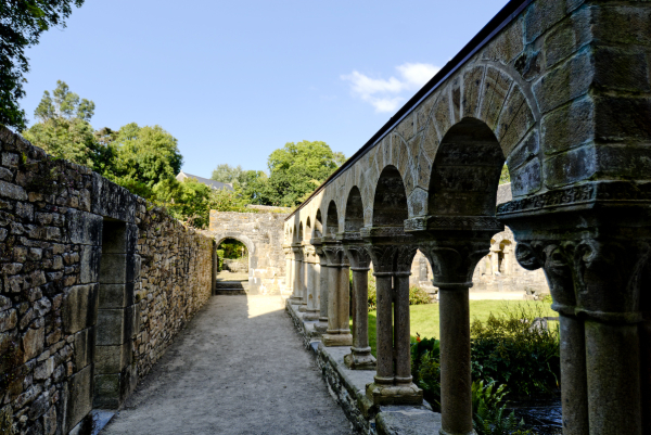 Daoulas abbaye Finistere