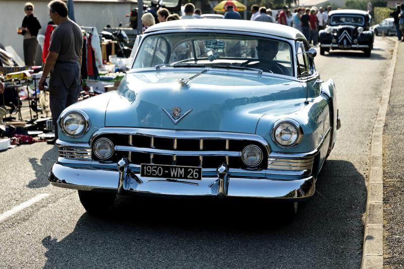 1950 automobile  ST-MARCEL-LES-VALENCE Drome 26