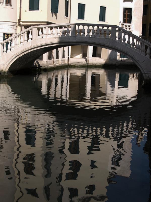 Pont Venise Reflet Eau