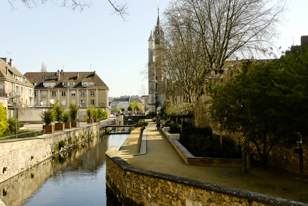 Canal Evreux Eure