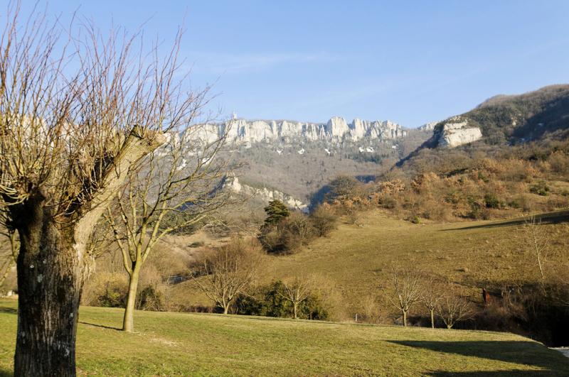 Beauregard-Baret Drome 26 paysage