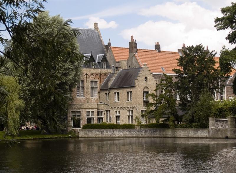 Bruges Belgique Architecture