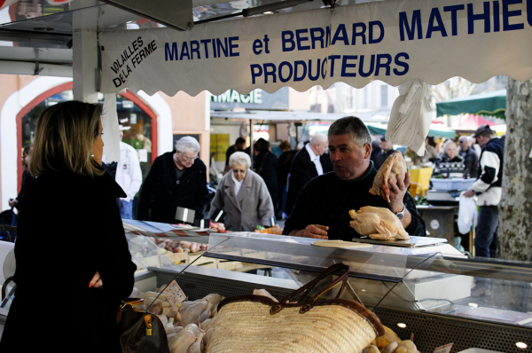 Marché Valence Drome 26