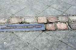 Berlin mur celebration