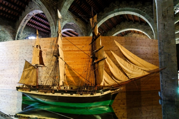 bateau Barcelone musee