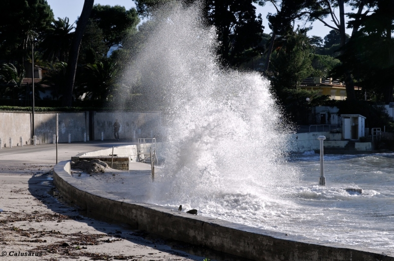 Antibes tempete