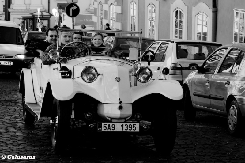 Automobile N&B Prague