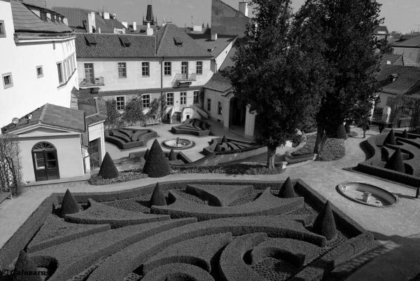 jardin Prague