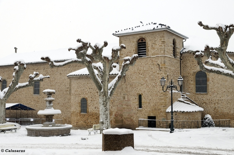St-Sorlin neige eglise
