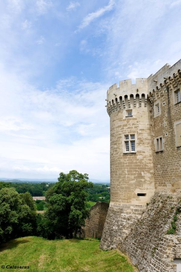 Drome 26 chateau Suze-La-Rousse